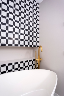 Detail bathroom